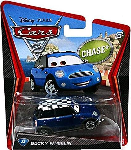 Amazon Com Disney Pixar Cars 2 Movie Die Cast Vehicle Becky