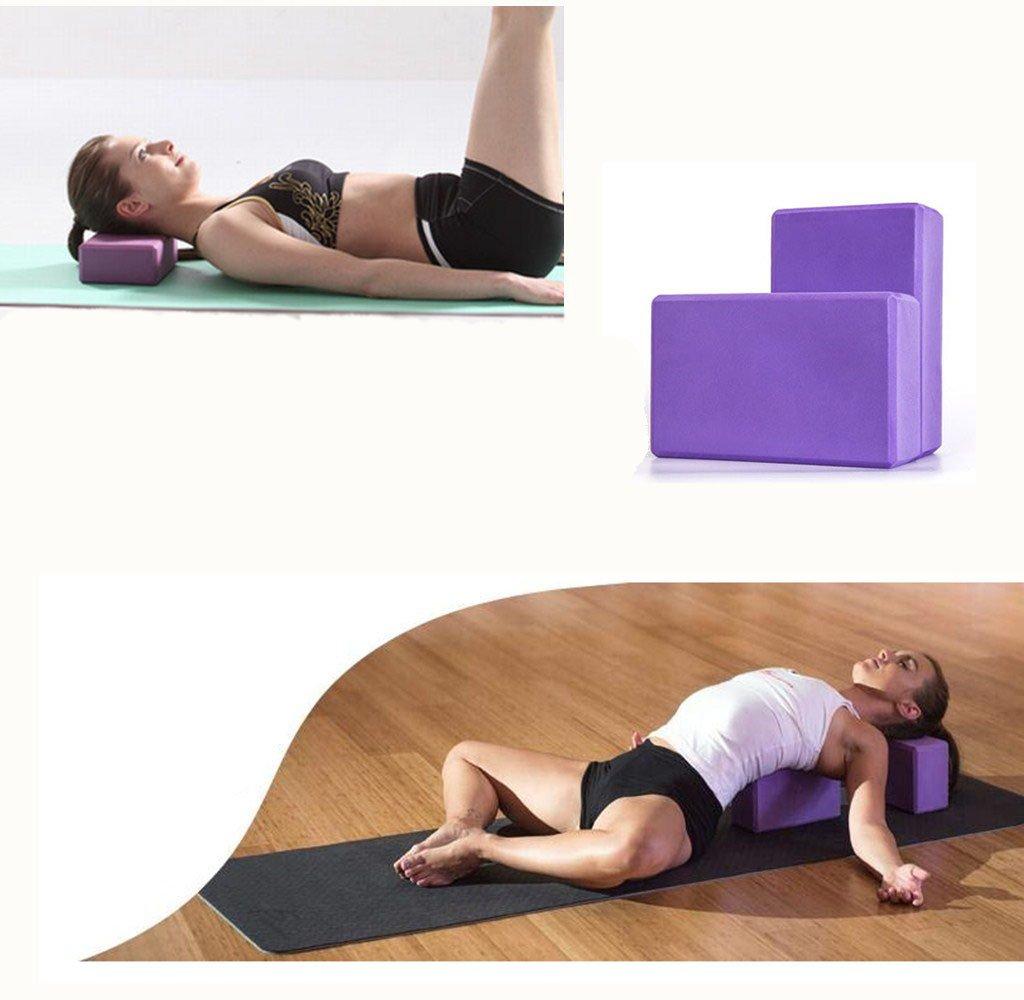 Amazon.com: Juego de bloques de yoga a granel de corcho de ...