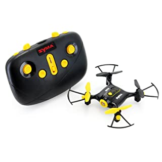 Tenergy Syma X20 Mini Drone Headless Quadcopter RC Drone with Altitude Hold One-key 360 Degree Stunt Move Pocket Drone Easy to Fly Drone for Beginner (Tenergy Exclusive Black)