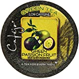 Cafejo Tea K-Cups, Green Passion Fruit, 24 Count
