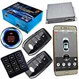 GSM Car Alarm System With Passwords Keyless Central Lock Unlock Smart Phone App Control