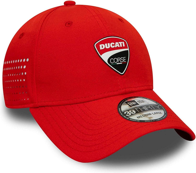 Ducati Corse FA19 39Thirty Stretch Cap New Era Rot