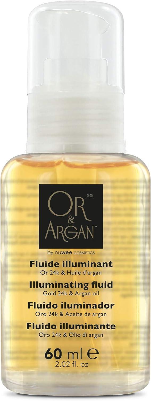 OR y ARGAN fluido iluminador 60ML: Amazon.es: Belleza