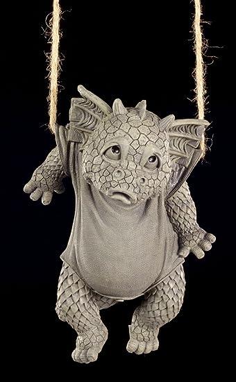 Lustige Drachen Figur Für Den Garten Waschtag Amazonde Garten