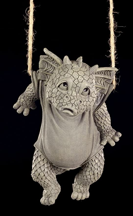 Lustige Drachen Figur Fur Den Garten Waschtag Amazon De Garten