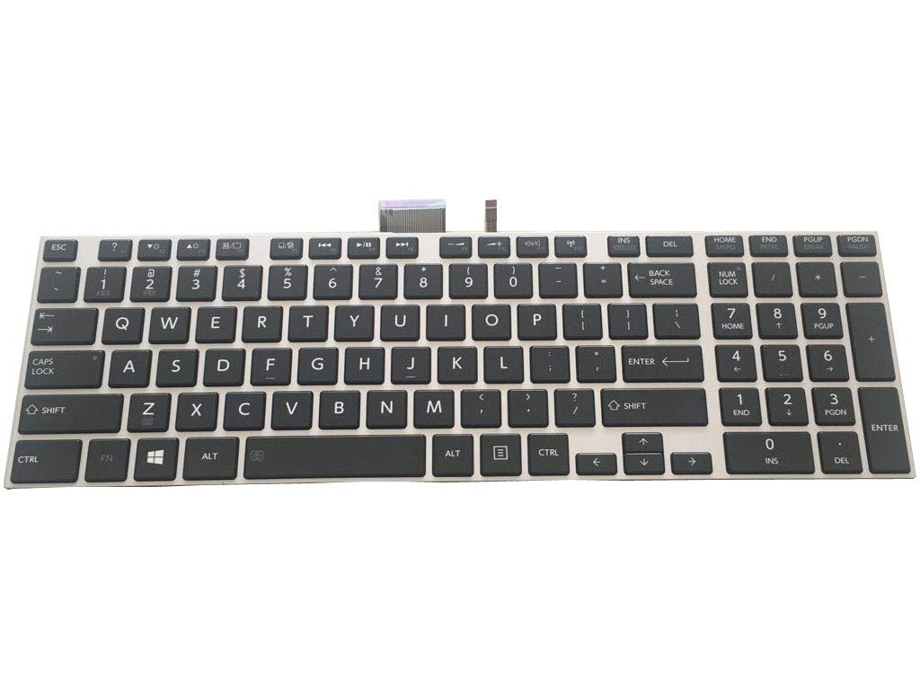 NEW Genuine Toshiba Satellite S55-A5188 S55-A5295 S55T-A5389 KEYBOARD BACKLIT