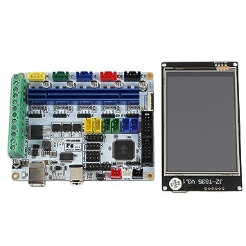 H HILABEE Controlador De Impresora 3D Placa Base V1.1 Kit De Placa ...
