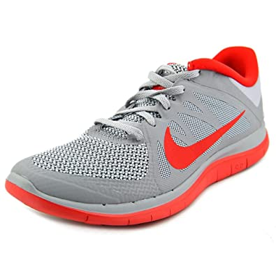 the best attitude 49cb6 75ae4 Nike Free 4.0 V4 Men sRunning Shoes Wolf Grey University Red Pure Platinum