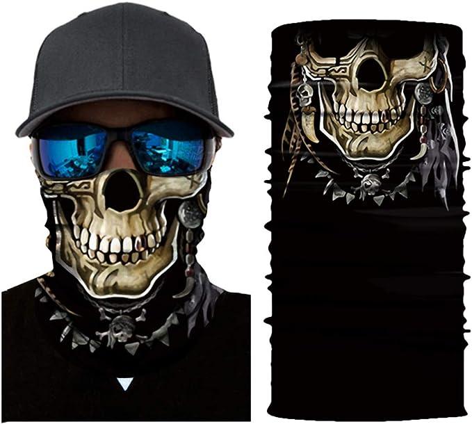 Walmeck Kühle Roboter Maske Schal Joker Stirnband Sturmhauben Für Radfahren Angeln Ski Motorrad Ac407 Bekleidung