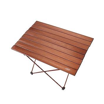 JNYZQ Table Pliante - Barbecue extérieur, Petite Table en Aluminium ...
