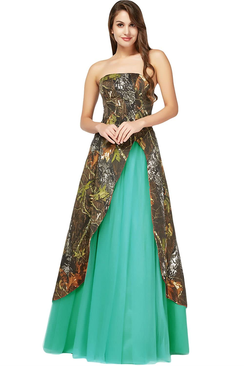 Magnificent Camouflage Prom Dress Image Collection - All Wedding ...