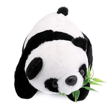 YEARYOWN Lindos Rellenos Panda Gatos Cojín Almohada Peluches ...