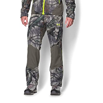 6480fb3a91747 Under Armour Coldgear Infrared Scent Control Barrier Pant - Men's Mossy Oak  Treestand / Velocity 3XL