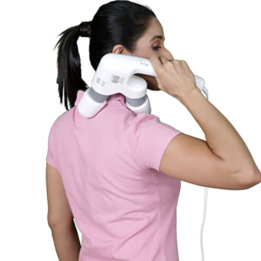 JSB 03 Lite Neck Massager for Pain Relief in Cervical with Powerful Vibration & Flexible Heads Electric Massagers at amazon