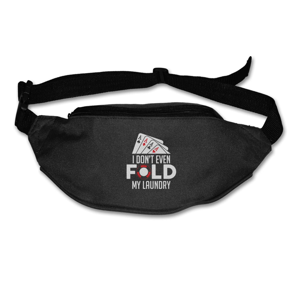 I Dont Even Fold My Laundry Sport Waist Packs Fanny Pack Adjustable For Run