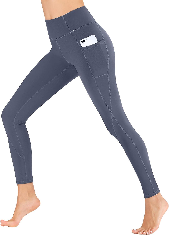Heathyoga Yoga Pants for Women with Pockets High Waisted Leggings with Pockets for Women Workout Leggings for Women