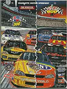 Charlotte Motor Speedway Collector 39 S Edition Magazine May 1998 Coca Cola 600 Nascar H A Humpy