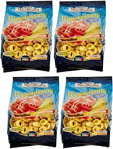 pasta-montegrappa-set-of-4-envelopes-of-dried-tortellini-with-meat-250-gr-88-oz-each-italian-import-