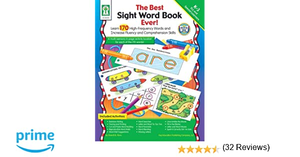 Amazon.com: The Best Sight Word Book Ever!, Grades K - 3: Learn ...