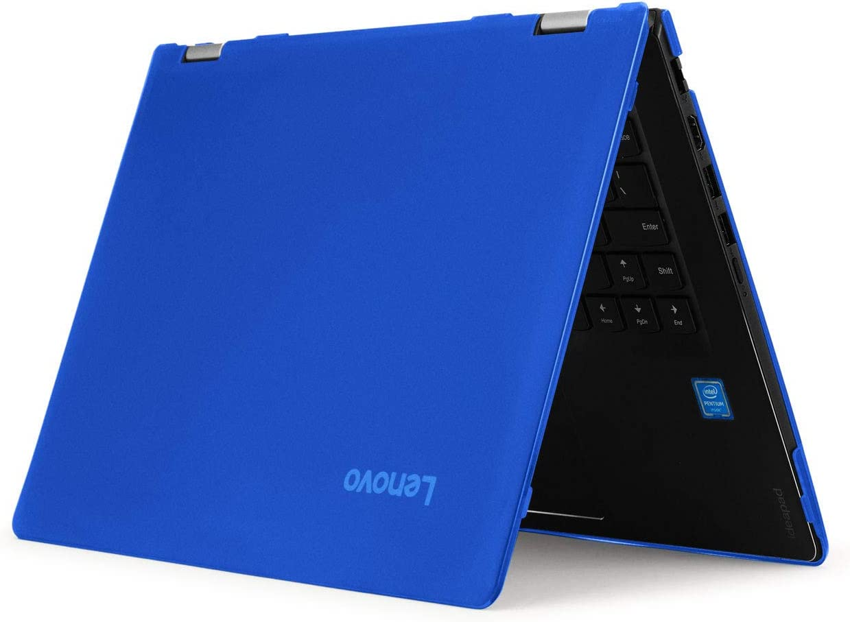 "mCover Hard Shell Case for 15.6"" Lenovo Yoga 730 (15) Series 2-in-1 Laptop (Yoga_730_15 Blue)"
