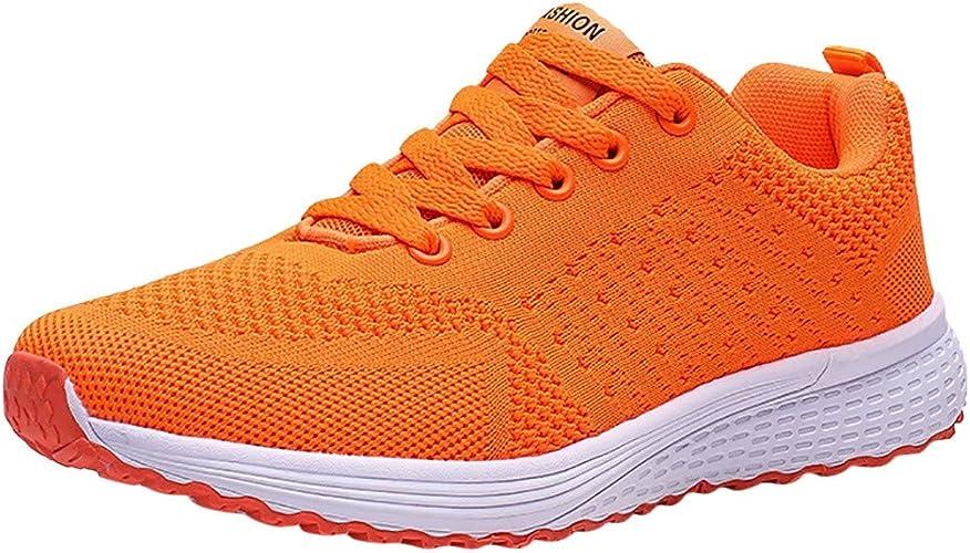 Chaussures De Sport Femme Ete Running Gym Fitness Confort Mesh Respirantes LéGer Pas Cher A La Mode Tendance Soldes Chaussures Student De Course