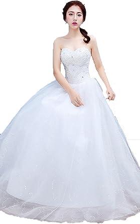 Korean Large Size Matchless Lace Wedding Dress Wholesale 4 At Amazon Women S Clothing Store
