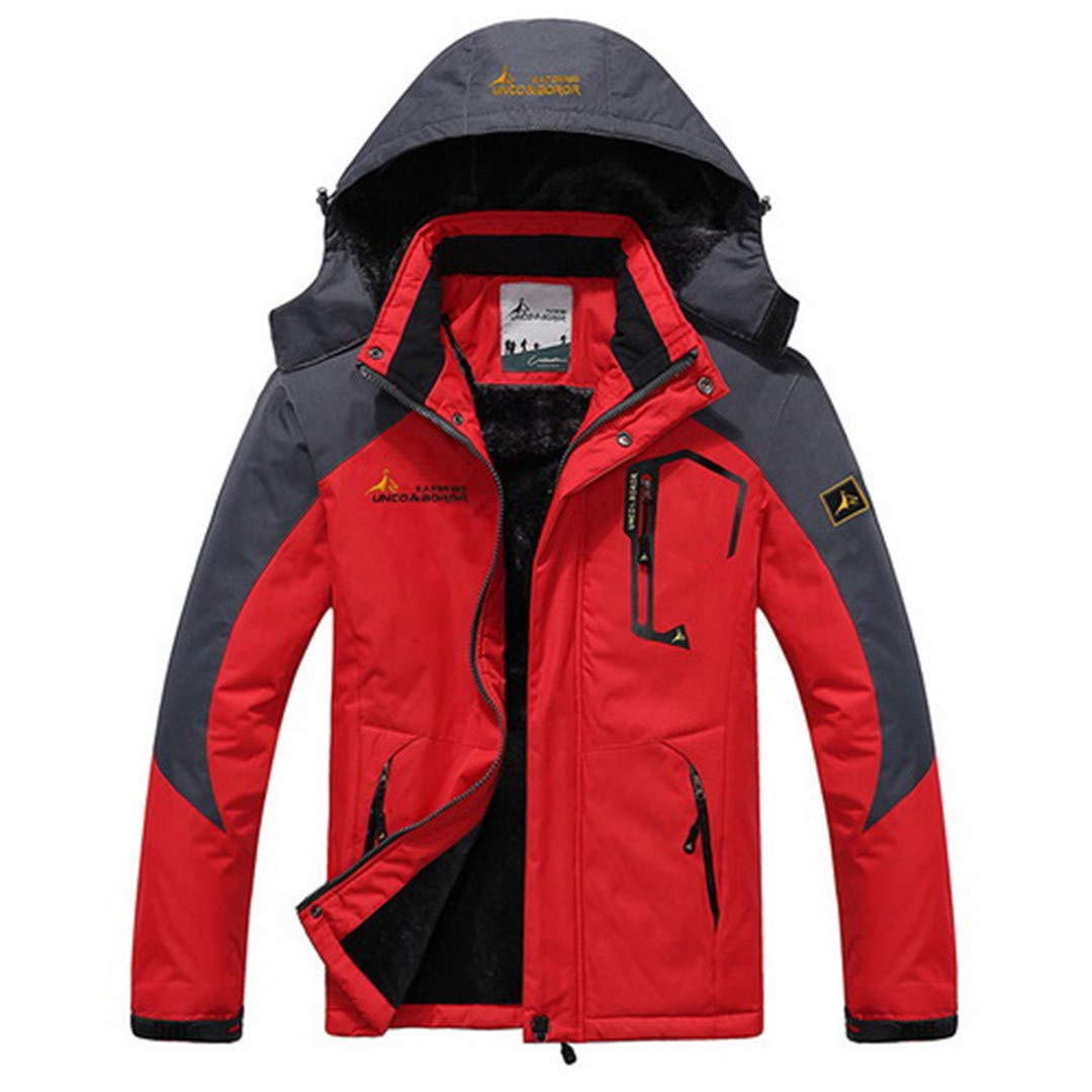 Jackenstr Herren Winter Wandern Outdoor Sports Mantel Camping Trekking Windjacke wasserdichte Ski-Jacken