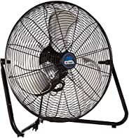B-Air FIRTANA-20X High Velocity Electric Industrial and Home Floor Fan, 20&