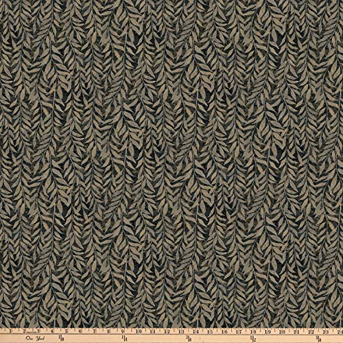 Northcott Dragonfly Moon Neutrals Leaf Blender Black/Taupe, Fabric by the Yard