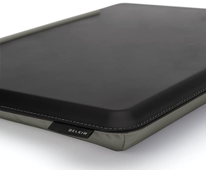 Belkin CushDesk - Soporte de Regazo para Ordenador portátil, Negro y Gris