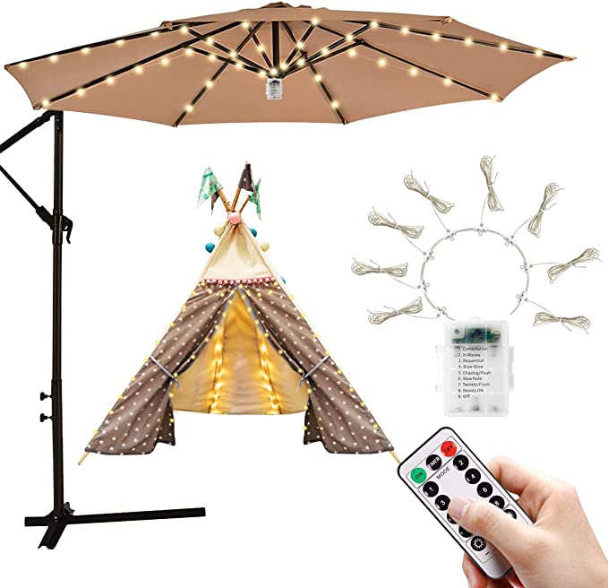 Patio Umbrella Light String Lights - Extraordinary Water-resistance
