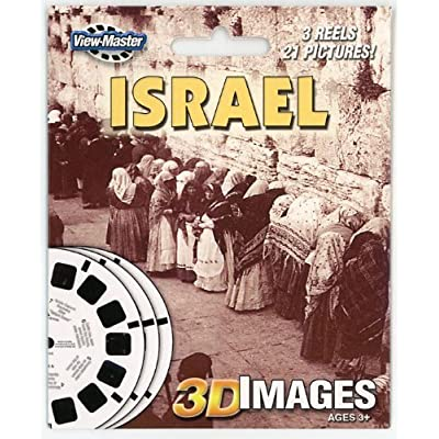 ViewMaster 3 Reel Set - ISRAEL - Old and New in 3D: Toys & Games