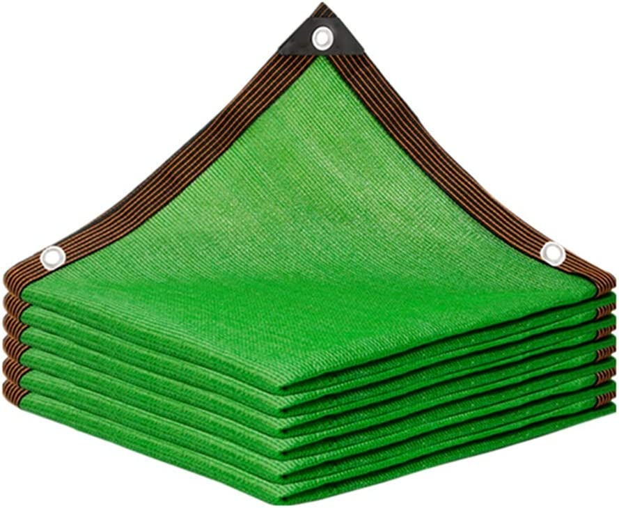 ZHU Shade sail,Shade Netting for Greenhouse Plants Garden Sun Shade Net Light and Breathable Shading and Cooling Protect Plants Or Greenhouses Or Pets (Color : Green, Size : 8x11m)