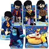 The Beatles Collectible: 2012 Factory Entertainment Yellow Submarine Band Members Plush Dolls