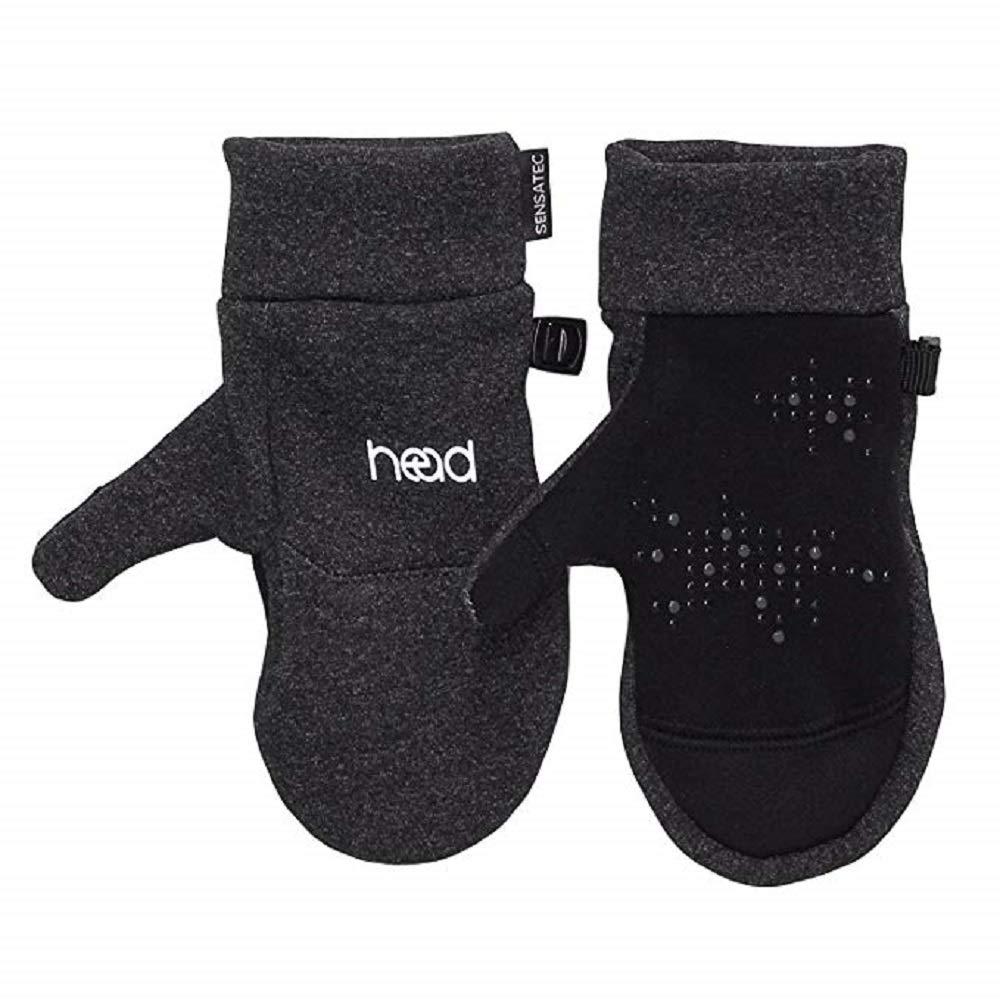 HEAD Kids' Touchscreen Mittens - Dark Heather Gray