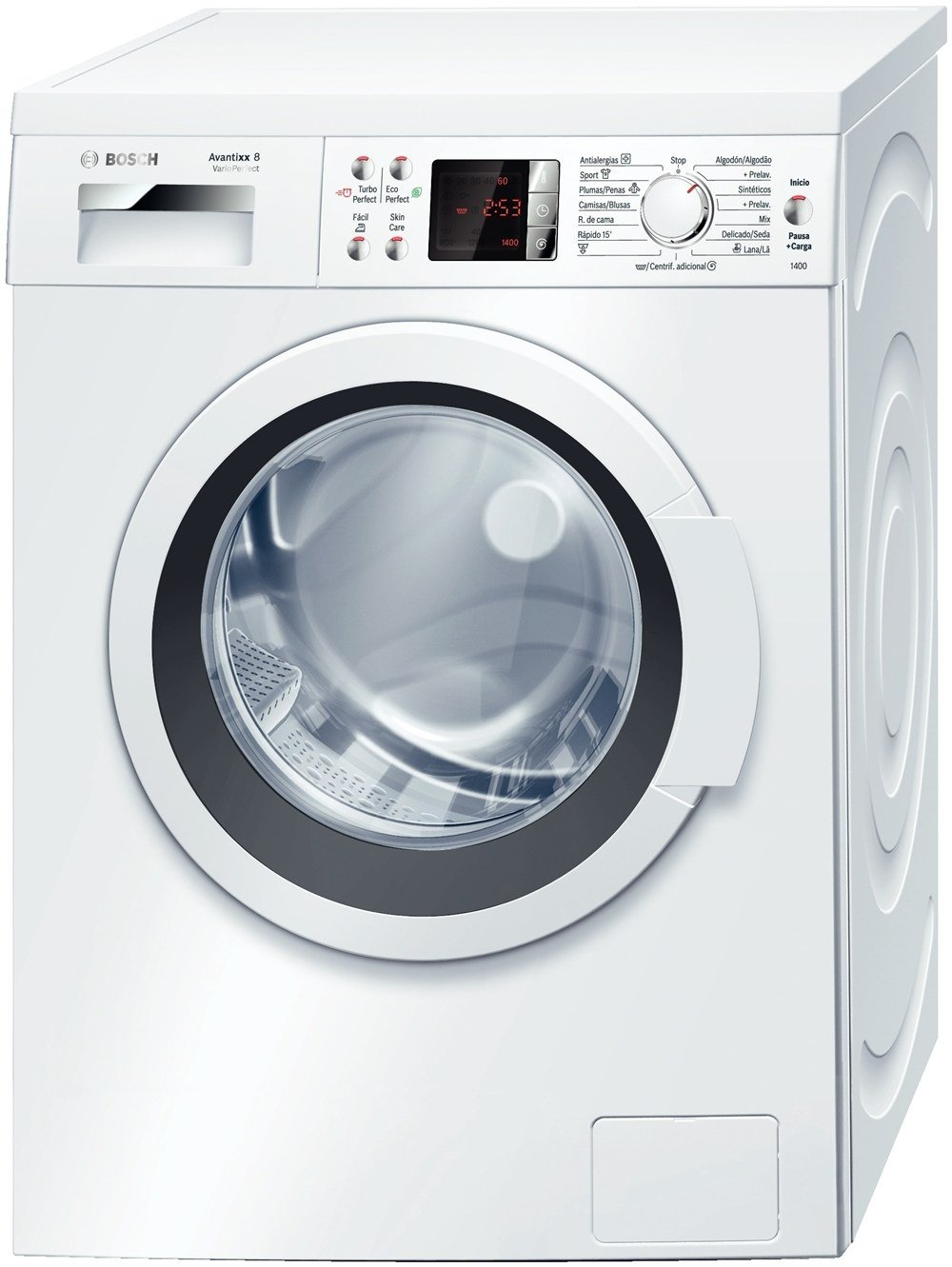 Bosch WAQ28468EE Independiente Carga frontal 8kg 1400RPM A+++ ...