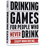 Drinking Games for People Who Never Drink Drinking Game, Pack of 1