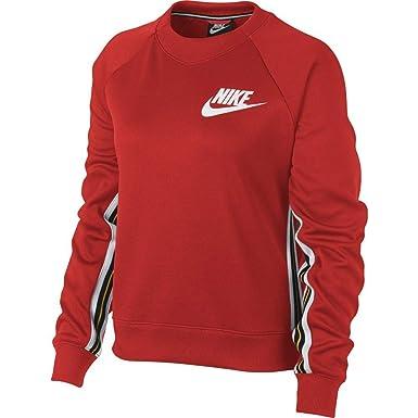 fantastic savings latest fashion newest collection Nike - Sweat-Shirt - Femme Rouge Rouge: Amazon.fr: Vêtements ...
