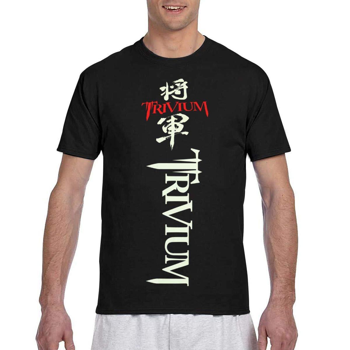 Rebecca-p S Funny Trivium Tshirt Black