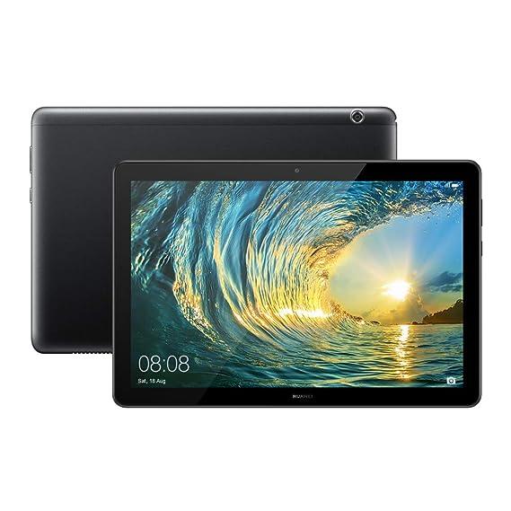 HUAWEI MediaPad T5 Tablet (10 1 inch, 16GB, Wi-Fi + 4G LTE) Black