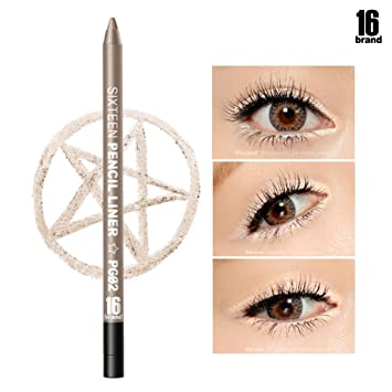 [16Brand] 16 Pencil Liner 0.5g / #PG02 Champagne Gold (No Smudging