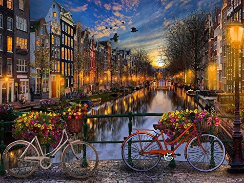Amsterdam Aglow Jigsaw Puzzle 550 Piece