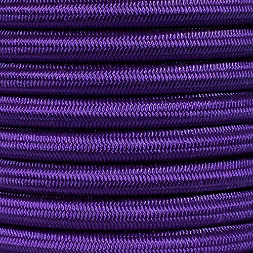 "1//4 1//8/"" 5//16 5//8 1//16 1//2 inch Crafting Stretch String 10 25 50 /& 100 Foot Lengths Made in USA 3//8 3//16 PARACORD PLANET Elastic Bungee Nylon Shock Cord 2.5mm 1//32"