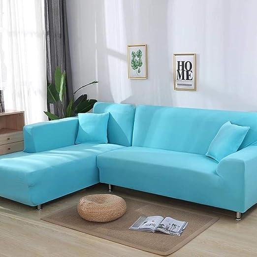 2 piezas cubiertas para sofá de esquina Sofá en forma de L ...