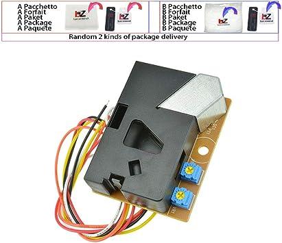 DSM501A módulo de Sensor de Polvo PM2.5 Detector de partículas de ...