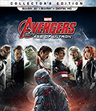 Marvel's Avengers: Age of Ultron 2-Disc BD Combo Pack (3D BD+BD+Digital HD) [Blu-ray]