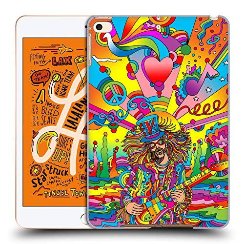 Official Howie Green Hippie Musician 3 Psychedelic Hard Back Case Compatible for iPad Mini (2019)