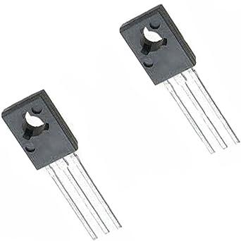 2 amplificadores de potencia BD437 NPN para transistor de conmutación lineal Compl