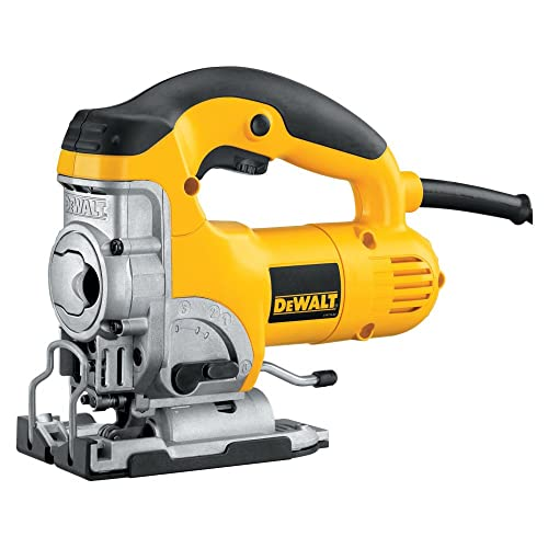 DEWALT DW331KR Heavy-Duty 6.5 Amp Top Handle Jig Saw Renewed