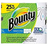 Bounty Select-A-Size Paper Towels, Print, 2 Large Rolls = 25% More Sheets